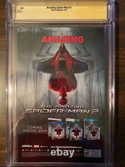 Amazing Spider-Man #1 A 3rd Series CGC SS 9.8 Signed STAN LEE, Ramos Campbell