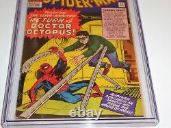 Amazing Spider-Man #11 CGC SS Signature Autograph STAN LEE 2nd Doctor Octopus