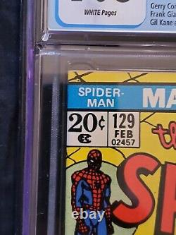 Amazing Spider-Man 129 cgc 7.0 The 1st Appearance of the Punisher
