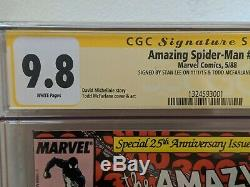 Amazing Spider-Man 300 CGC White Pages 9.8 SS signed Stan Lee / Todd McFarlane