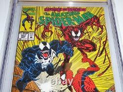 Amazing Spider-Man #362 CGC SS Signature Autograph STAN LEE MARK BAGLEY Venom