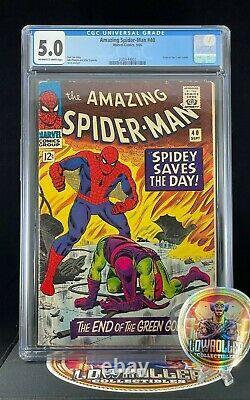 Amazing Spider-Man #40 CGC 5.0 Origin of the Green Goblin