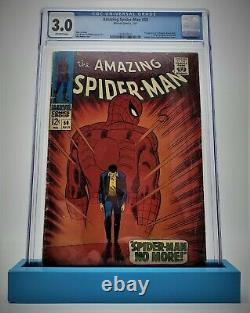 Amazing Spider-Man #50, CGC 3.0 1967 Off-White Pages First app of the Kingpin