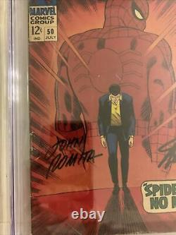 Amazing Spider-Man 50 Cgc Ss 3.5 1st Kingpin Stan Lee & John Romita signed