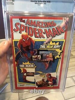 Amazing Spider-Man 678 Quinones 150 Mary Jane Venom Variant CGC 9.4 NM Stan Lee