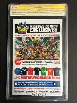 Amazing Spider-Man #700 Midtown Variant 6x Signed Stan Lee CGC SS 9.8 1189910034