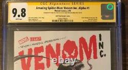 Amazing Spider-ManVenom Inc Alpha #1 CGC SS 9.8. Dell Otto, STAN LEE, McFarlane