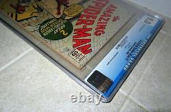 Amazing Spider-man #1 Cgc 9.0 1966 Grr