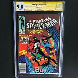 Amazing Spider-man #252 5x Signed Cgc 9.8 Ss Stan Lee Romita Janson & More