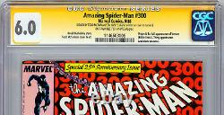 Amazing Spider-man #300 Cgc-ss 6.0 Signed By Todd Mcfarlane & Stan Lee 1988