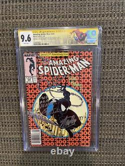 Amazing SpiderMan #300 CGC 9.6 Signed By Stan Lee, McFarlane, Micheline