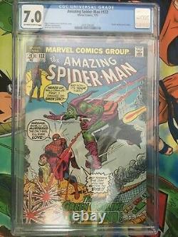 Amazing Spiderman #122 DEATH Green Goblin KEY BOOK! CGC 7.0