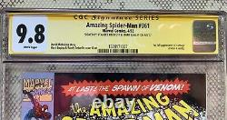 Amazing Spiderman 361, 362, 363 ALL CGC 9.8 SS Newstand Stan Lee Mark Bagley