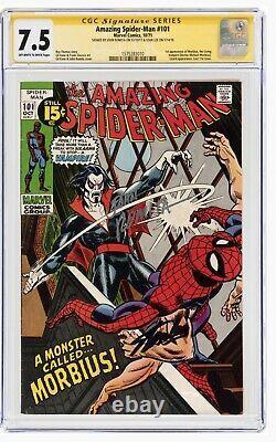 Amazing spiderman 101 cgc Signature Series Stan Lee/romita