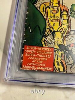 Avengers #1 CGC 5.0 (OW) Origin & 1st Appearance Thor Hulk Iron-Man Ant-Man Key