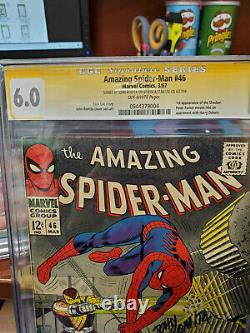 Cgc Ss 6.0 Amazing Spider-man #46- Signed By Romita Sr & Stan Lee