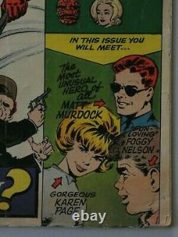 DAREDEVIL #1 Origin and 1st app of Daredevil (Marvel 1964) Not CGC $500 OFF