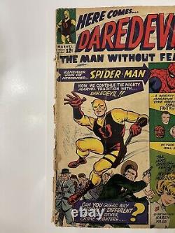 Daredevil #1 1964 1st App. Of Daredevil Complete Not CGC