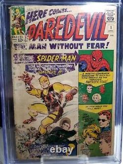 Daredevil #1 1964 CGC 1.5 1st app Daredevil new case. New label