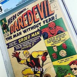 Daredevil #1 Apr 1964, Marvel CGC 2.5 1st Appearance Silver Age Key Spiderman