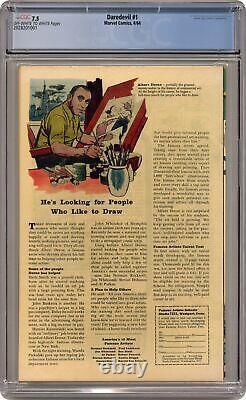 Daredevil #1 CGC 7.5 1964 2028201001 1st app. Daredevil