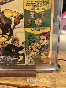 Daredevil #1 CGC Graded 2.5 First Appearance Marvel Silver Age Key Comic Book