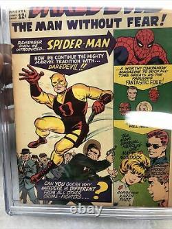Daredevil #1 Marvel Comics 1964 Lee, Everett, Kirby CGC Universal Grade 5.5 Blue
