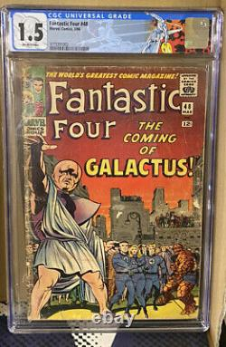 FANTASTIC FOUR #48 CGC 1.5 1st APPEARANCE SILVER SURFER, GALACTUS! NEW LABEL