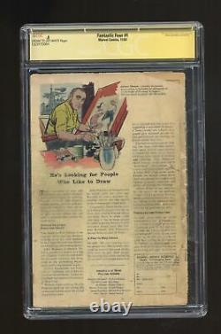 Fantastic Four #1 CGC 0.5 SS Stan Lee 1323173001 1st app. Fantastic Four