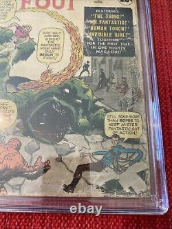 Fantastic Four #1 CGC 1.0 (Off White To White Pages) Marvel Comics 11/61 1st App