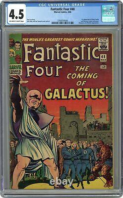 Fantastic Four #48 CGC 4.5 1966 3760054006 1st app. Galactus, Silver Surfer