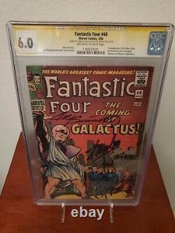 Fantastic Four #48 CGC 6.0 SS 1st app. Galactus Silver Surfer Stan Lee Sinnott