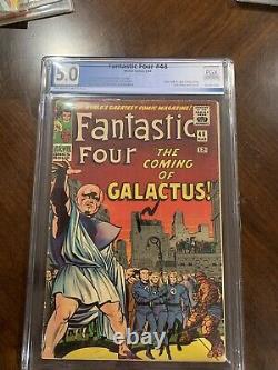 Fantastic Four # 48 First Silver Surfer First Galactus PGX 5.0 CGC