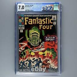 Fantastic Four 49 (1966) 1st cover GALACTUS & SILVER SURFER CGC 7.0 3779669001