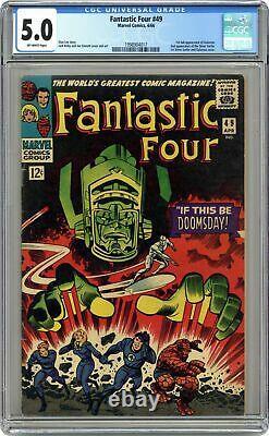 Fantastic Four #49 CGC 5.0 1966 1998904017