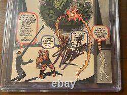 Fantastic Four #5 7/62 Cgc 6.0 Oww Ss Stan Lee! First Doctor Doom! Nice Key