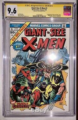 Giant-Size X-Men #1 CGC 9.6 White Pages Signed By Stan Lee