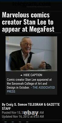 Giant Size X-men #1 1st App New X-men 2nd Full App Wolverine Stan Lee Signed