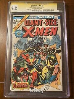 Giant Size Xmen #1 Cgc 9.2 Oww Ss Stan Lee & Len Wein! Major High Grade Key