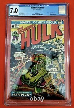Hulk 180 CGC 7.0 First Wolverine Appearance MAJOR KEY