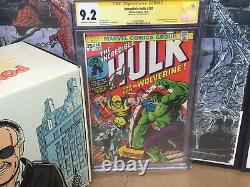 Hulk 181 CGC 9.2 Signed Stan Lee