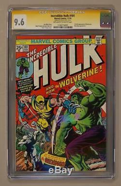 Incredible Hulk #181 CGC 9.6 SS Stan Lee 1126716001