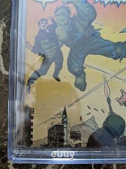 Incredible Hulk #3 1962 CGC 3.0 Silver Age 3rd Hulk 1st Ringmaster Marvel Key