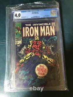 Iron man 1 cgc