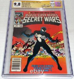 Marvel Super Heroes Secret Wars #8 CGC SS 9.8 STAN LEE Double Cover Canadian Var