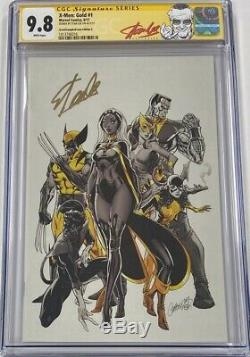 Marvel X-men Gold #1 Recalled Campbell Virgin Cover C Signed Stan Lee CGC 9.8 SS