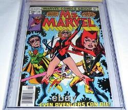 Ms. Marvel #18 CGC SS 9.8 Signature Autograph STAN LEE 1st Mystique Avengers POW
