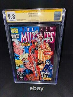 New Mutants 98 Cgc 9.8 2/91 Ss Stan Lee 1st App Deadpool Domino