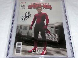 Peter Parker The Spectacular Spider-Man #1 CGC SS Signature Autograph STAN LEE