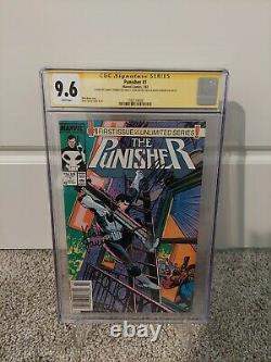 Punisher #1 CGC 9.6 Signed 3X Stan Lee, Gerry Conway & Klaus Janson (Newsstand)